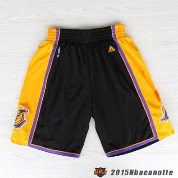 originale a caldo tecnologia avanzata acquisto economico Pantaloncini NBA Los Angeles Lakers Uomo nero